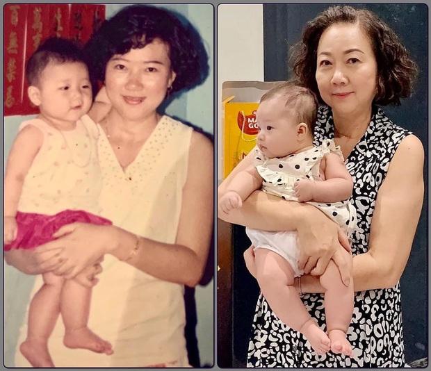 Em gái Trấn Thành khoe con gái 3 tháng tuổi siêu cấp đáng yêu, nhưng nhan sắc mẹ nam MC sau 27 năm mới đáng kinh ngạc - Ảnh 2.