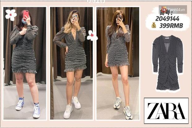 3 cô nàng béo gầy khác nhau cùng diện lần lượt 5 mẫu váy của Zara, chị em xem ngay để tìm ra dáng váy perfect cho mình - Ảnh 2.