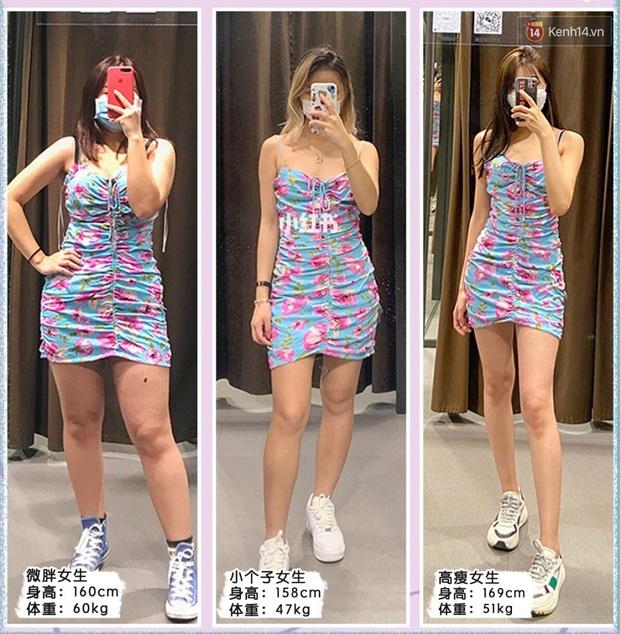 3 cô nàng béo gầy khác nhau cùng diện lần lượt 5 mẫu váy của Zara, chị em xem ngay để tìm ra dáng váy perfect cho mình - Ảnh 1.