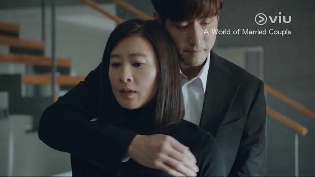 Sun Woo (Thế Giới Hôn Nhân) mây mưa với chồng cũ khiến khán giả uất ức: Gây sốc câu rating có thỏa đáng tâm lý? - Ảnh 6.
