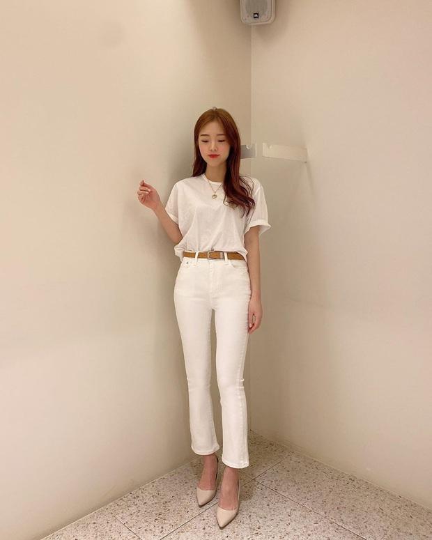 2 tuyệt chiêu sơ vin hack dáng cực phẩm của quý cô Hàn, biến chân ngắn thành dài như dùng app kéo chân - Ảnh 7.