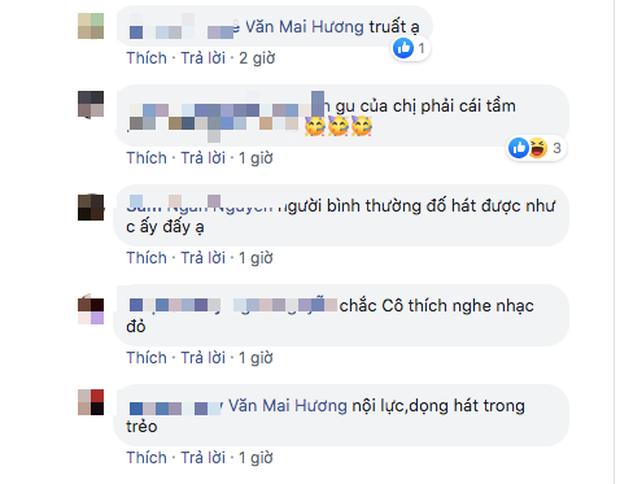 Bị chê hát dở chẳng khác người bình thường khi cover bản hit của Khởi My, Văn Mai Hương có pha đáp trả cực chất khiến ai cũng ố á - Ảnh 5.