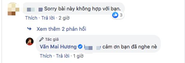Bị chê hát dở chẳng khác người bình thường khi cover bản hit của Khởi My, Văn Mai Hương có pha đáp trả cực chất khiến ai cũng ố á - Ảnh 3.