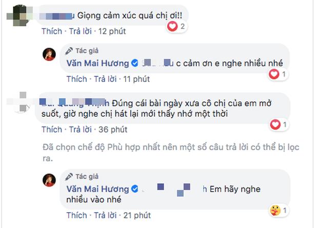 Bị chê hát dở chẳng khác người bình thường khi cover bản hit của Khởi My, Văn Mai Hương có pha đáp trả cực chất khiến ai cũng ố á - Ảnh 6.
