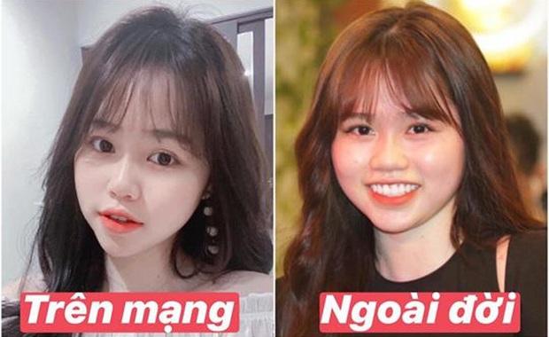 Bạn gái Quang Hải bị dân tình tìm ra điểm sai sai trong story mới nhất, sau khác biệt ảnh trên mạng - ngoài đời - Ảnh 4.