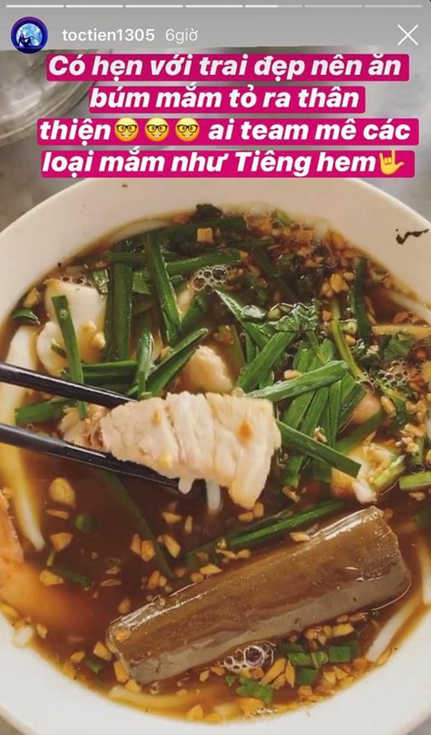 Có một kiểu người như Tóc Tiên: hoàn cảnh nào cũng nghĩ ra… món để ăn cho hợp, luôn hết lòng hết dạ với đồ ăn - Ảnh 2.
