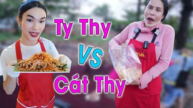 """Cát Thy và Ty Thy – 2 cái tên nhưng cùng một công thức nổi tiếng: Lối nói chuyện """"mặn như muối biển"""", đồ ăn đều ngon nức tiếng đất Sài Gòn - Ảnh 1."""