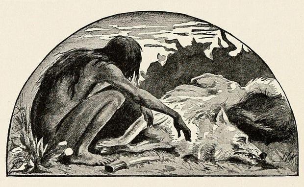 Nguyên mẫu đời thực của cậu bé rừng xanh: Không nói được tiếng người, sống như kẻ thiểu năng và chết trong bệnh tật sau 20 năm rời bầy sói - Ảnh 3.