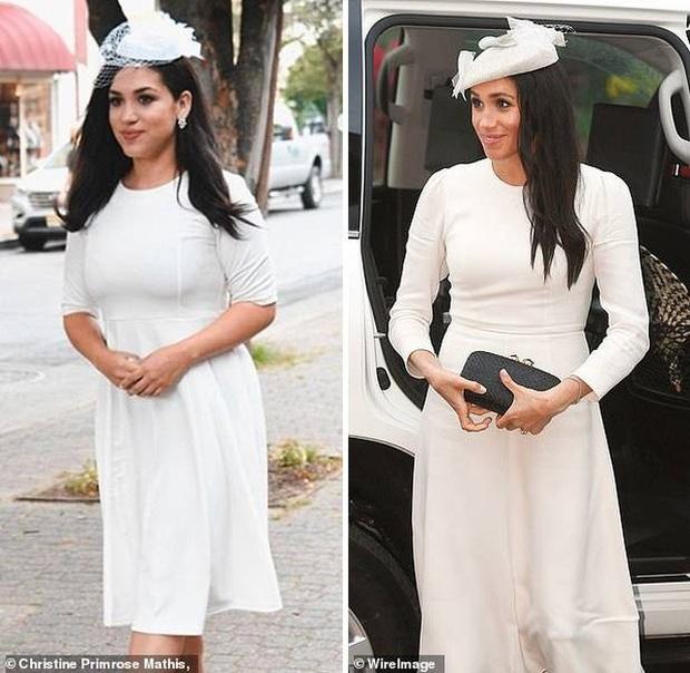 Bản sao của Meghan Markle: Nữ tiếp viên 32 tuổi đổi đời nhờ ngoại hình giống kinh ngạc, style ăn mặc cũng y chang - Ảnh 6.