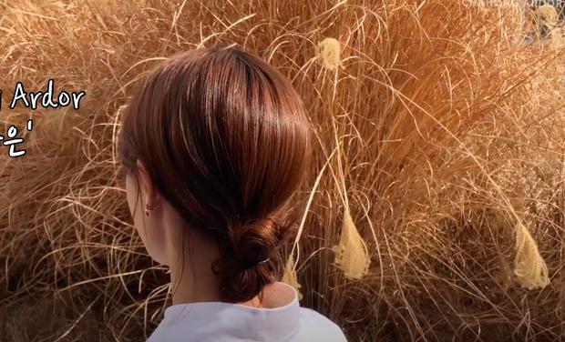 3 kiểu tóc búi thấp gái Hàn diện nguyên hè: Mát lịm mà vẫn cực sang, chưa mất 1 phút đã xong ngay - Ảnh 9.