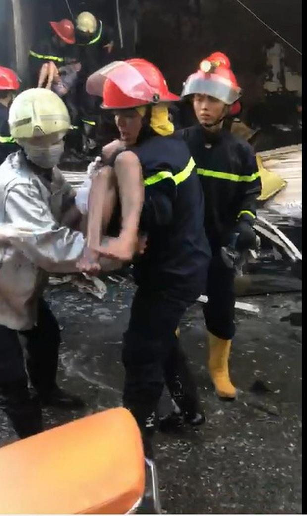 Một trong số 7 người được giải cứu trong vụ cháy căn nhà 3 tầng ở Sài Gòn đã tử vong - Ảnh 3.
