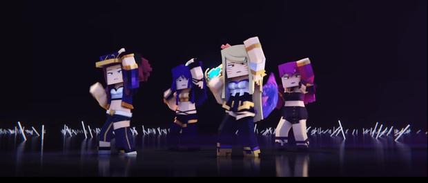 Phát sốt với MV triệu view POP/STARS bị Minecraft hóa, tưởng không hay mà hay không tưởng! - Ảnh 3.
