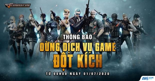 Nóng! VTC Game đột ngột thông báo chính thức dừng dịch vụ game Đột Kích - Ảnh 2.