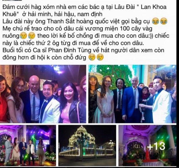 Choáng váng trước tòa lâu đài xây gần 10 năm của triệu phú Nam Định, ngày cưới cô dâu nhận vương miện 100 cây vàng - Ảnh 15.