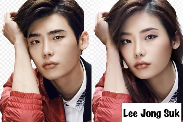 Chết cười với nhan sắc chuyển giới của các nam thần xứ Hàn: Đáng yêu nhất đích thị là quân vương Lee Min Ho - Ảnh 3.