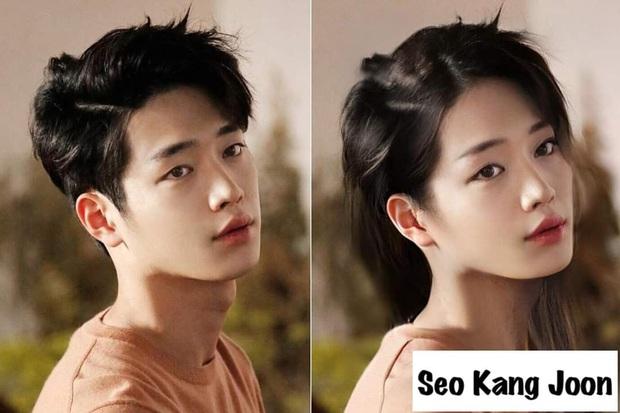Chết cười với nhan sắc chuyển giới của các nam thần xứ Hàn: Đáng yêu nhất đích thị là quân vương Lee Min Ho - Ảnh 4.