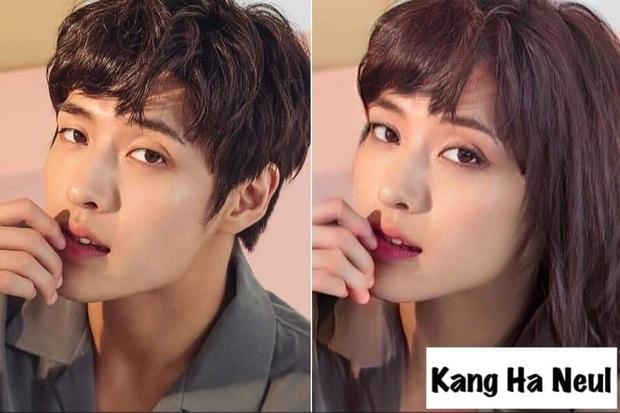 Chết cười với nhan sắc chuyển giới của các nam thần xứ Hàn: Đáng yêu nhất đích thị là quân vương Lee Min Ho - Ảnh 5.