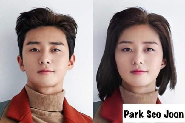 Chết cười với nhan sắc chuyển giới của các nam thần xứ Hàn: Đáng yêu nhất đích thị là quân vương Lee Min Ho - Ảnh 7.