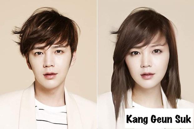 Chết cười với nhan sắc chuyển giới của các nam thần xứ Hàn: Đáng yêu nhất đích thị là quân vương Lee Min Ho - Ảnh 12.