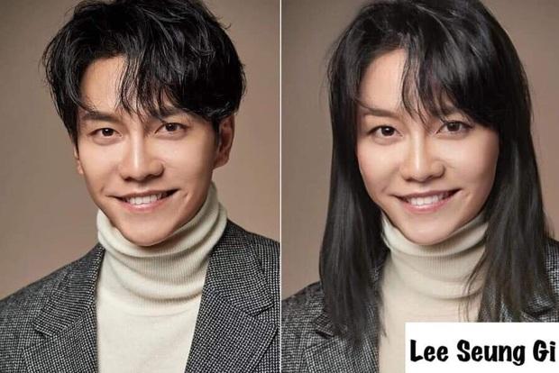 Chết cười với nhan sắc chuyển giới của các nam thần xứ Hàn: Đáng yêu nhất đích thị là quân vương Lee Min Ho - Ảnh 26.