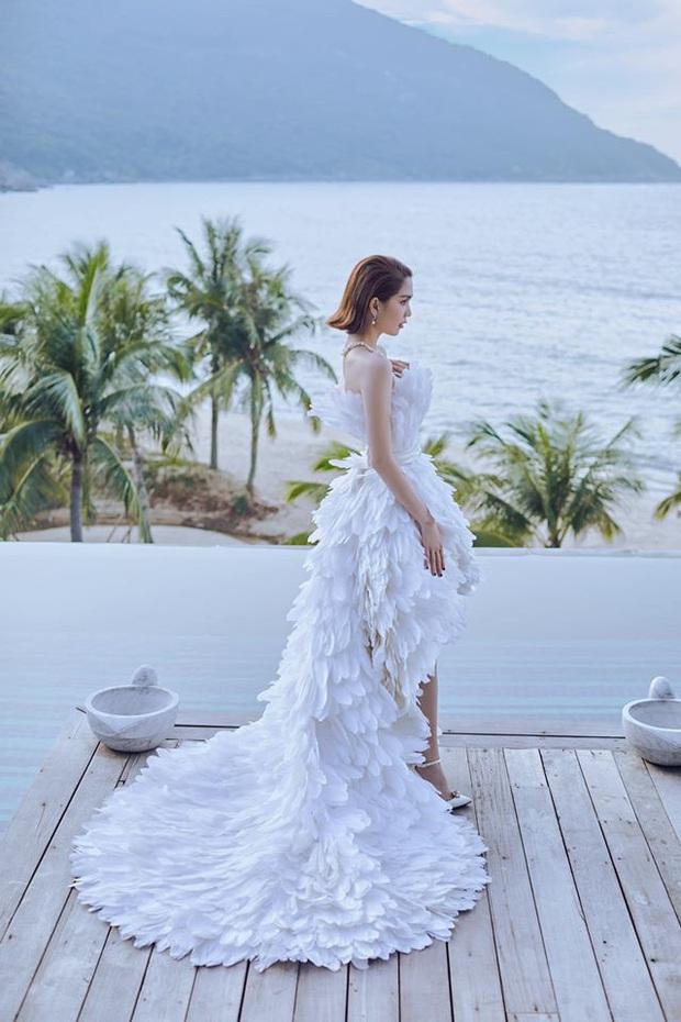 Cùng 1 bộ váy: Ngọc Trinh bỗng kém đẹp so với Lương Thùy Linh vì vóc dáng gầy gò, trơ xương thiếu sức sống - Ảnh 5.