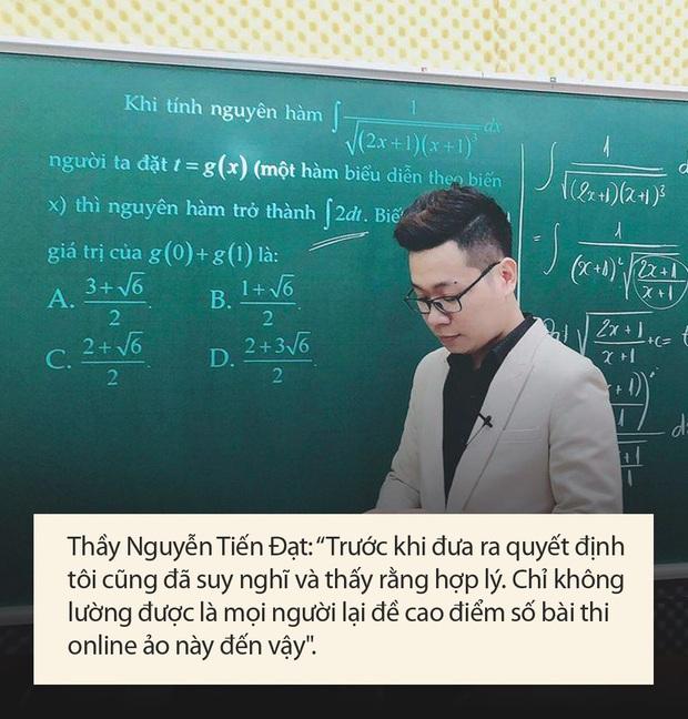 Thầy Toán bị tố giúp học sinh gian lận thi cử đưa ra lý do: Tôi sai với cộng đồng mạng nhưng đúng với học trò của mình - Ảnh 3.