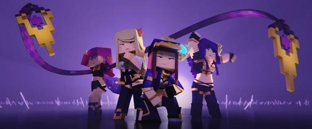 Phát sốt với MV triệu view POP/STARS bị Minecraft hóa, tưởng không hay mà hay không tưởng! - Ảnh 8.