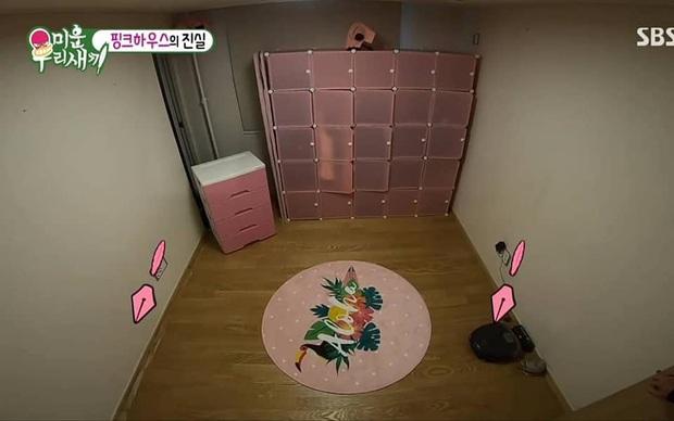 Ai mà to gan dám biến ngôi nhà toàn màu đen của Kim Jong Kook trở nên... hường phấn thế này? - Ảnh 7.