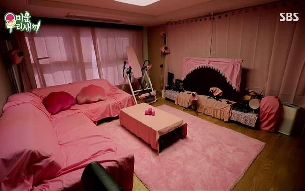 Ai mà to gan dám biến ngôi nhà toàn màu đen của Kim Jong Kook trở nên... hường phấn thế này? - Ảnh 2.