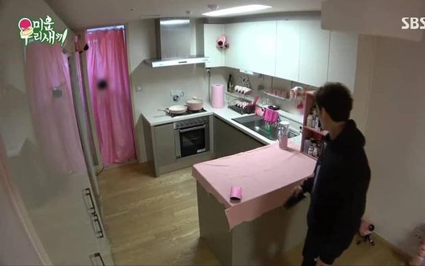 Ai mà to gan dám biến ngôi nhà toàn màu đen của Kim Jong Kook trở nên... hường phấn thế này? - Ảnh 6.