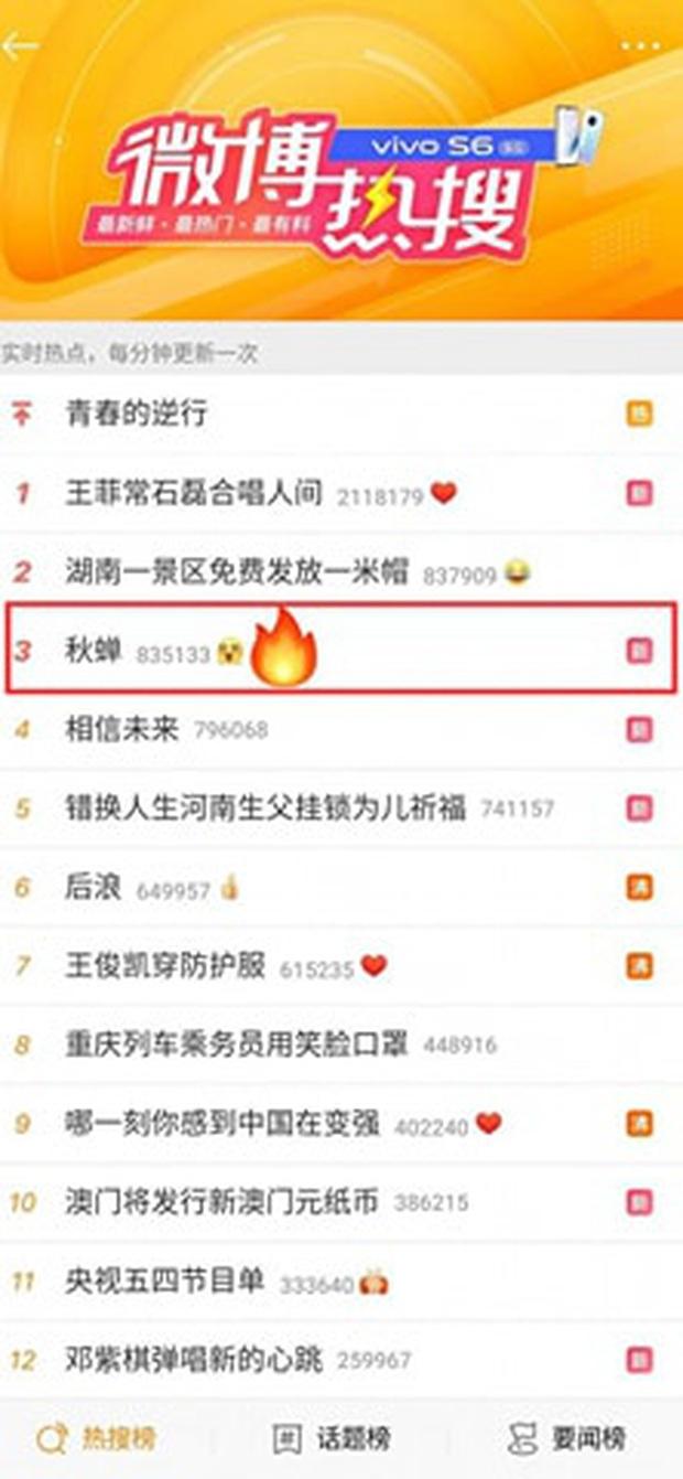Thu Thiền vừa lên sóng đã lọt top 3 tìm kiếm nóng của mạng xã hội Trung Quốc, sức hút Nhậm Gia Luân không thể chối cãi! - Ảnh 1.