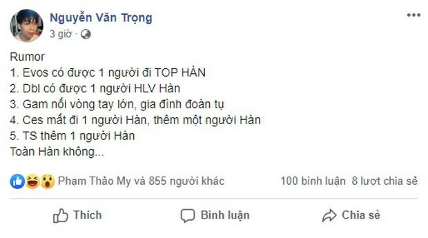 Nóng: Rộ tin cựu đường trên của SKT T1 sẽ tới Việt Nam thi đấu, VCS lần đầu có ngoại binh? - Ảnh 1.