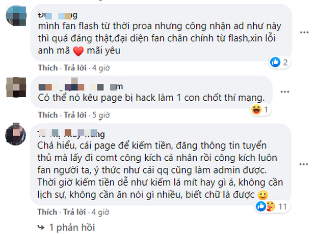 Hít hà drama: Admin fanpage Team Flash cà khịa streamer Anh Mã khiến cộng đồng Liên Quân dậy sóng! - Ảnh 7.