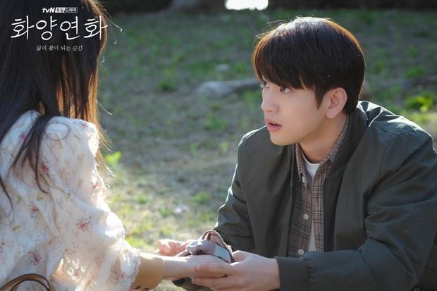 Crush học đường Jinyoung của Khi Tình Yêu Nở Rộ: Từ bản nhí Lee Min Ho nay đã thành nam thần triển vọng được công nhận - Ảnh 7.