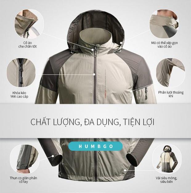 6 brand áo chống nắng được tin dùng nhất tại Việt Nam: Giá từ 400k, chất liệu mát mẻ và chống nắng hiệu quả nên rất đáng đầu tư - Ảnh 10.