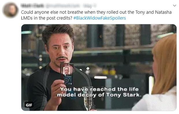 Cạn lời với những thánh chém spoil Black Widow: Goá phụ đen có bầu Tom Holland, Tony Stark đội mồ sống lại? - Ảnh 19.