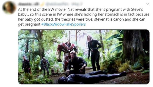 Cạn lời với những thánh chém spoil Black Widow: Goá phụ đen có bầu Tom Holland, Tony Stark đội mồ sống lại? - Ảnh 5.