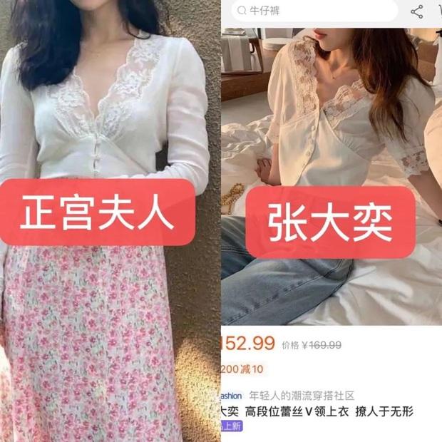 Tiểu tam cặp kè chủ tịch Taobao: Diện toàn hàng nhái, còn cả gan nhái cả áo hàng hiệu của chính thất phu nhân - Ảnh 4.