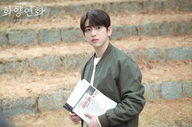 Crush học đường Jinyoung của Khi Tình Yêu Nở Rộ: Từ bản nhí Lee Min Ho nay đã thành nam thần triển vọng được công nhận - Ảnh 3.