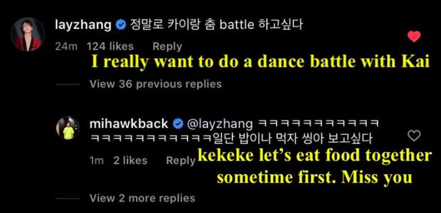 Chưa khi nào fan EXO mong nội bộ chiến nhau như thế này: Lay thách thức Kai nhảy battle, ai thắng cũng được quan trọng là anh em hội ngộ! - Ảnh 2.