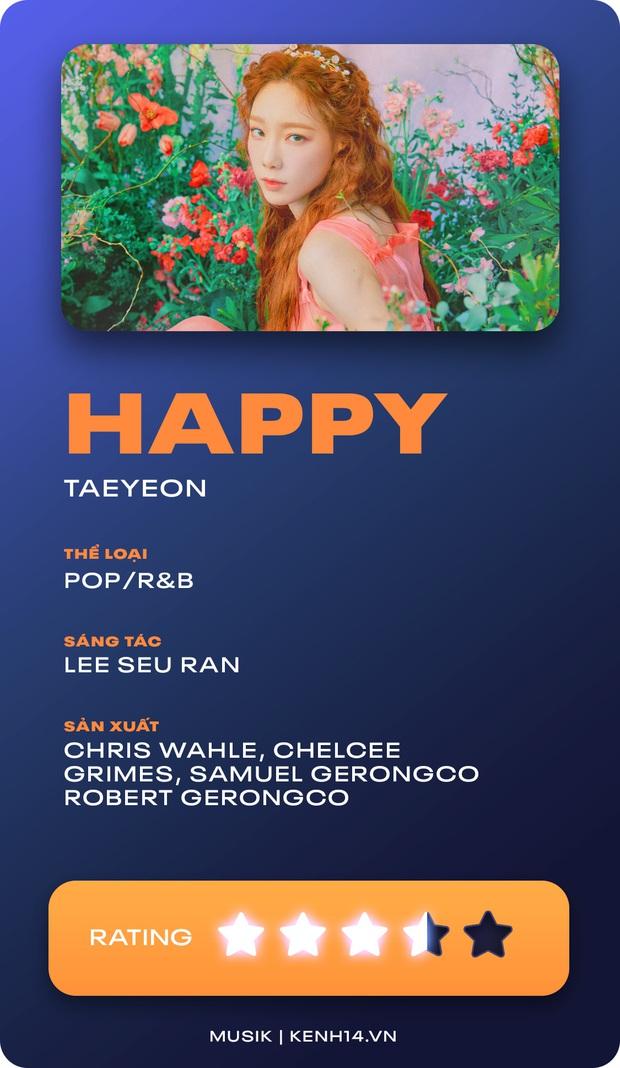 Happy - Bản hit mùa hè hạnh phúc thêm sức nặng cho discography của Taeyeon - Ảnh 8.