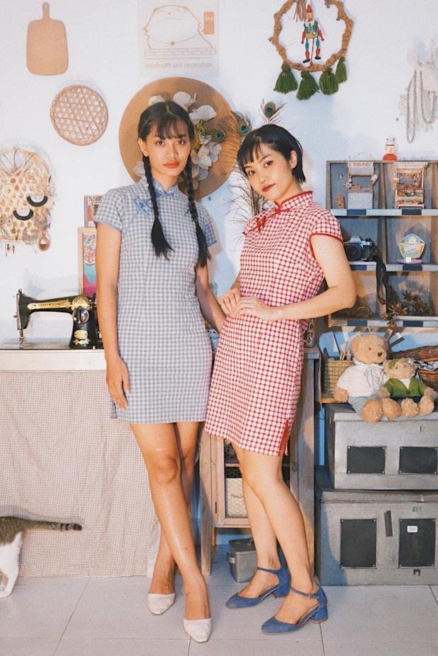 Đôi bạn thân rủ nhau diện đồ chuẩn phong cách TVB, bảo bối là căn phòng 40m2 chứa đầy quần áo secondhand - Ảnh 2.