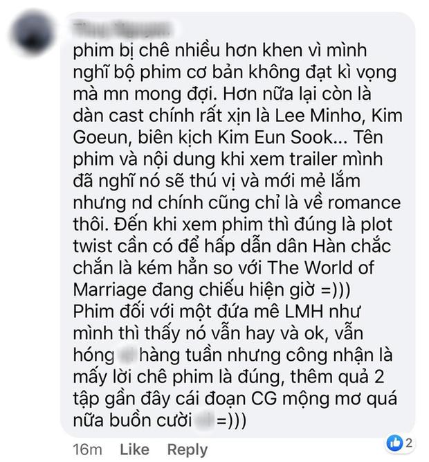 Fan Việt đua nhau kể 1001 lí do không ngấm nổi Quân Vương Bất Diệt: Lee Min Ho một màu hay mẹ đẻ Goblin đã hết chiêu? - Ảnh 10.