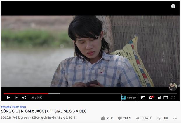 Jack và K-ICM phá đảo chính mình, trở thành những nghệ sĩ đầu tiên trong lịch sử Vpop sở hữu 2 MV đạt thành tích 300 triệu view! - Ảnh 2.