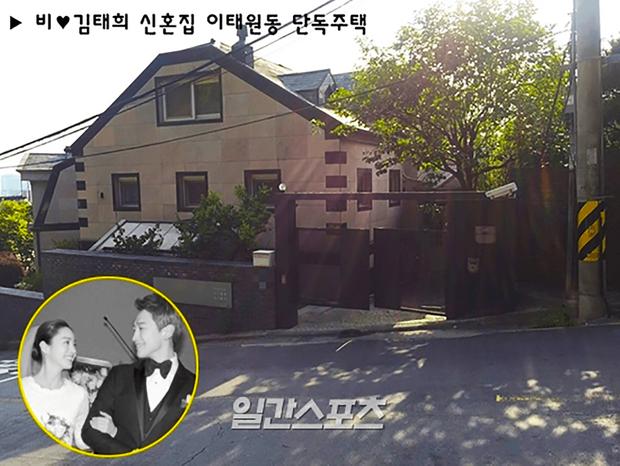 Khui khối bất động sản của vợ chồng Kim Tae Hee - Bi Rain: Ước tính 1.265 tỷ, hết làm hàng xóm BTS lại đến nhà ở Mỹ - Ảnh 8.