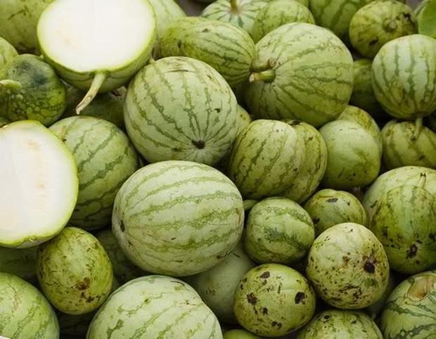 Dân mạng cười ngất khi thấy cô gái mua phải quả dưa hấu đểu có ruột trắng muốt, nhưng tất cả đều đã nhầm to? - Ảnh 2.