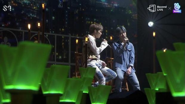 Concert online đầy cảm xúc của WayV: Lucas bật khóc vì fan, loạt sân khấu chất lượng cao cùng với màn xuất hiện bất ngờ của Shindong (Suju) - Ảnh 5.