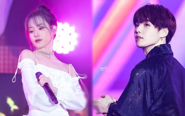 IU và Baekhyun (EXO) chiến nhau từ trong phim ra đến BXH: người nói EXO không có cửa với nữ hoàng nhạc số, người bảo kết hợp với nhau thì vui! - Ảnh 3.