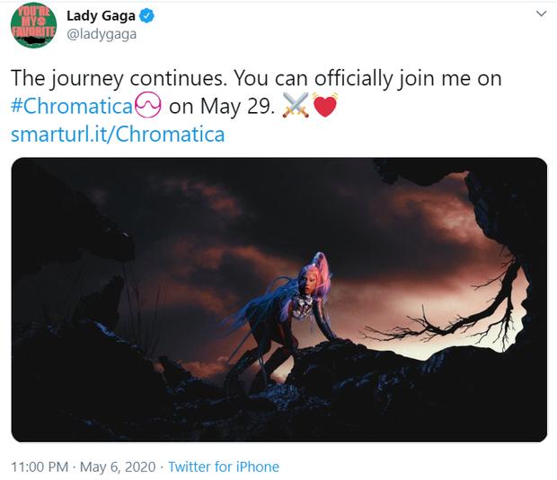 CHÍNH THỨC: BLACKPINK lao vào chảo lửa tháng 5 của Kpop, lấy đà comeback bằng việc ấn định ngày ra mắt ca khúc collab với Lady Gaga! - Ảnh 2.