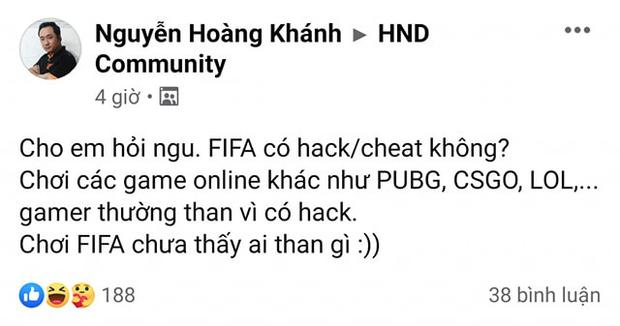 Game nào cũng có hack, vậy hack FIFA được không?  - Ảnh 1.